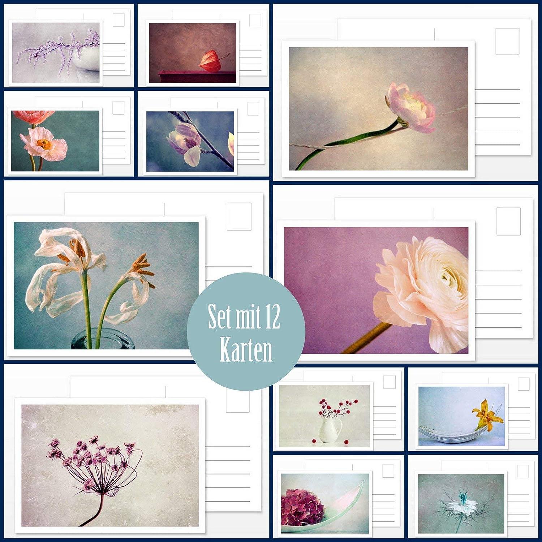 Kunstkarte Postkarten Set Kalender Silent Moments 2017 von Claudia Drossert