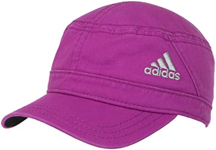 ec251b9f974 Amazon.com  adidas Women s Military 4.0 Hat (Pink)  Sports   Outdoors