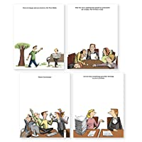 Deals on Thrillovation Funny Notepads