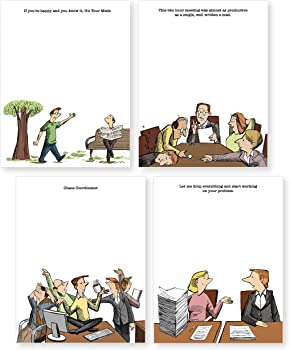 Thrillovation Funny Office Notepads