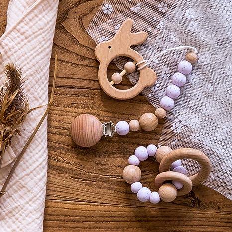 Mamimami Home 3pc Sesame Beads Baby Bracelet Dentthing ...