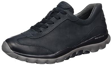 Gabor Shoes Rollingsoft, Derbys Femme, Noir (Schwarz (Strass) 87), 36 EU