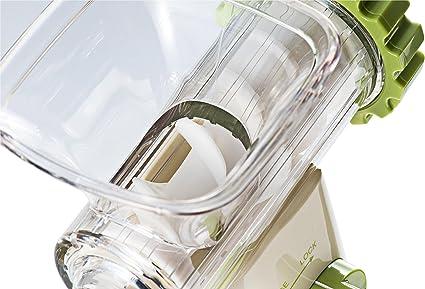 Lurch 10216 Green Power - Licuadora Manual, Colo Verde y Crema ...