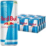 Red Bull Sugarfree, Energy Drink, 8.4 Fl Oz Cans (6 Packs of 4, Total 24 Cans)