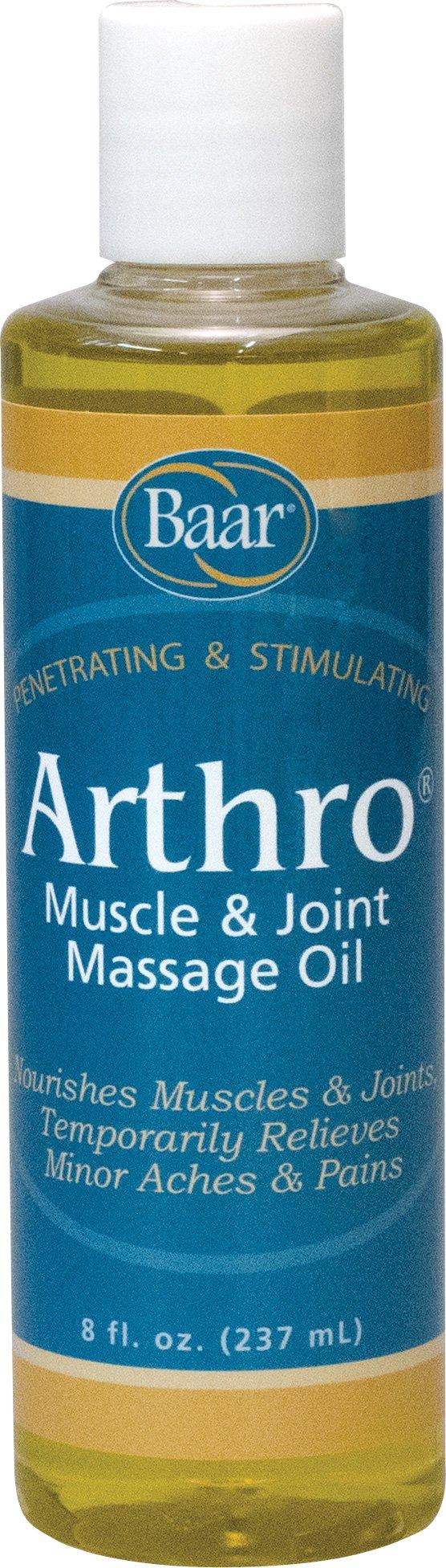 Arthro - Muscle & Joint Massage Oil, 8 oz.