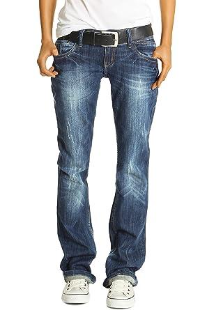 3ae96d3fb81b59 Bestyledberlin women's denim trousers, boyfriend jeans j137p: Amazon.co.uk:  Clothing