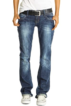 31ca2c8e398e bestyledberlin Damen Jeans Hosen, Baggyjeans j137p  Amazon.de ...