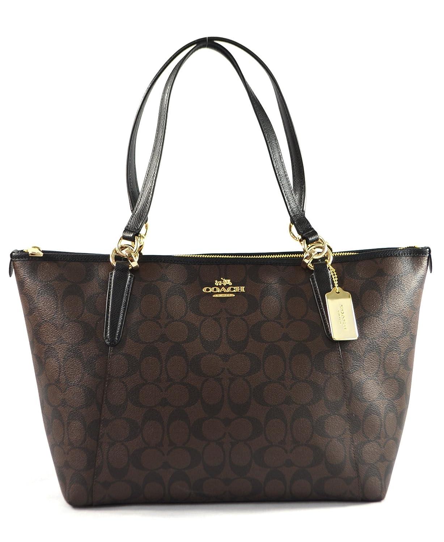 e676698d Coach AVA Leather Shopper Tote Bag Handbag