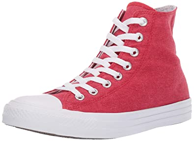 592638527b1fb Converse Women's Unisex Chuck Taylor All Star Washed High Top Sneaker