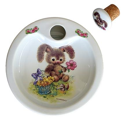 Piatti In Ceramica Per Bambini.Sterilizzatore Per Piatti In Porcellana Hase Con Teddy