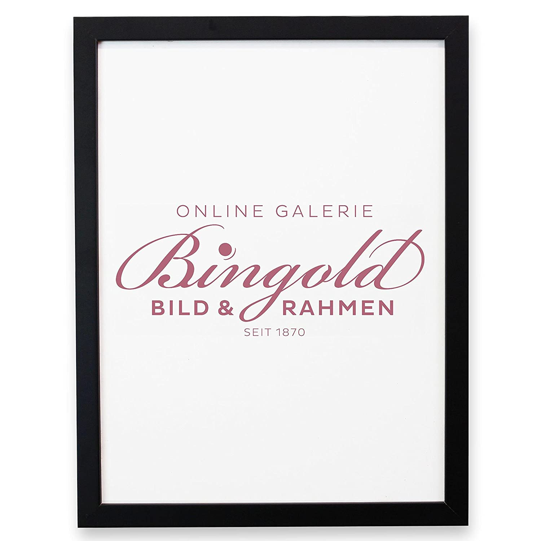Amazon.de: Online Galerie Bingold Bilderrahmen Como Schwarz 2, 0 ...