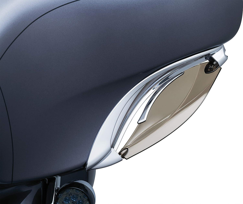 1 14-16 Touring Black Kuryakyn 1247 Adjustable Fairing Air Deflectors