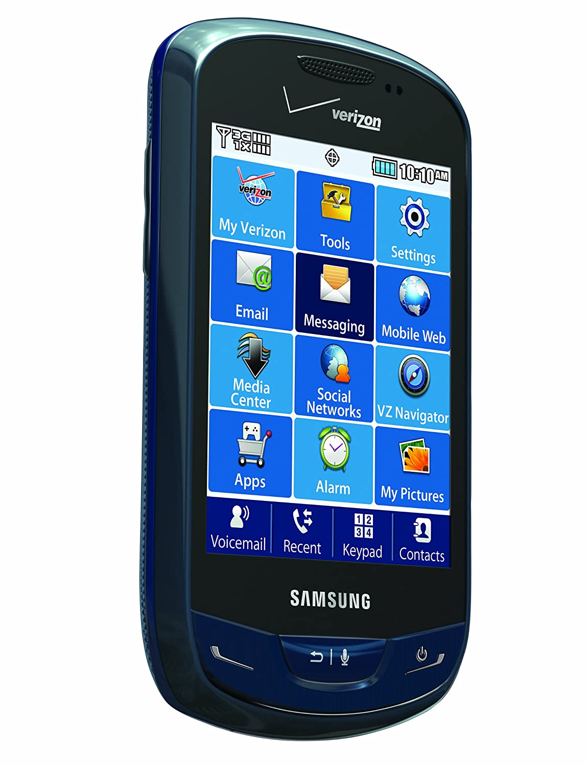 Amazon.com: Samsung Brightside, Sapphire Blue (Verizon Wireless): Cell  Phones & Accessories