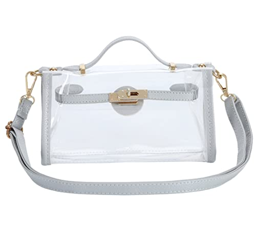 22e5064af37 Panda Kelly Clear Crossbody Shoulder Bag PGA   NFL Stadium Approved Women Transparent  Purse  Handbags  Amazon.com