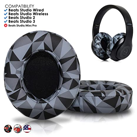 7736abbbfd5 Upgraded Beats Replacement Ear Pads by Wicked Cushions - Compatible with Studio  2.0 Wired/Wireless