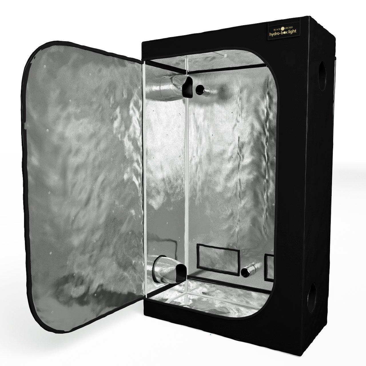 Black Orchid Hydro-box, 40x40x100cm Hydroponic Grow Tent