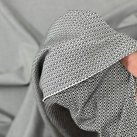 kawenSTOFFE - Tela de algodón (Jacquard, elástica, por Metros ...