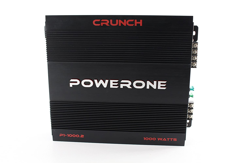 Amazon.com: Crunch P1-2000.1 A/B Class Mono-Block Powerone Amplifier: Cell  Phones & Accessories