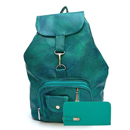 Buy Glory fashion Stylish Girls School bag College Bag Casual Backpack and  clutch combo(Green) Online at Low Prices in India - Amazon.in 8a9f13b2dd61a