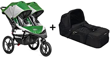 Baby Jogger 2015 Summit X3 Double Stroller Green Amazon Com