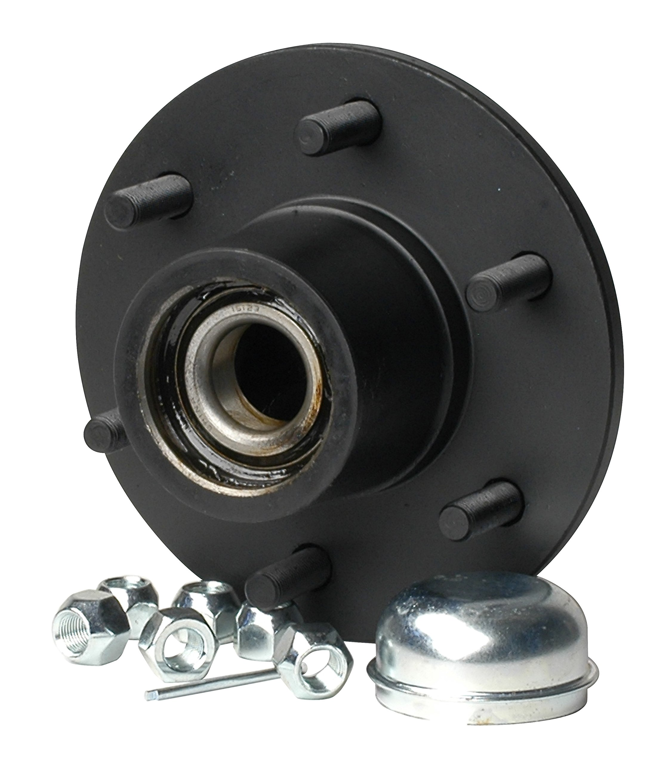 CE Smith Trailer 13711 Trailer Hub Kit (Tapered 1 3/4'' to 1 1/4'' Stud (6 x 5 1/2) 12'' Brake Size)- Replacement Parts and Accessories for Your Ski Boat, Fishing Boat or Sailboat Trailer by CE Smith