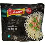 Amoy Straight To Wok Medium Noodles 300 g (Pack of 6)