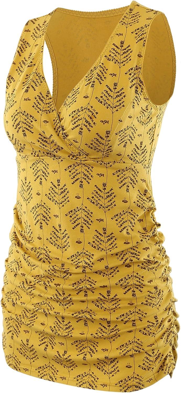 T-Shirt de Grossesse Haut dallaitement Brassi/ère Maternit/é Tee Femme ZUMIY Top de Maternit/é