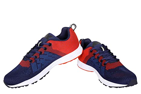 Nivia Yorks Running Shoe (Blue/Red