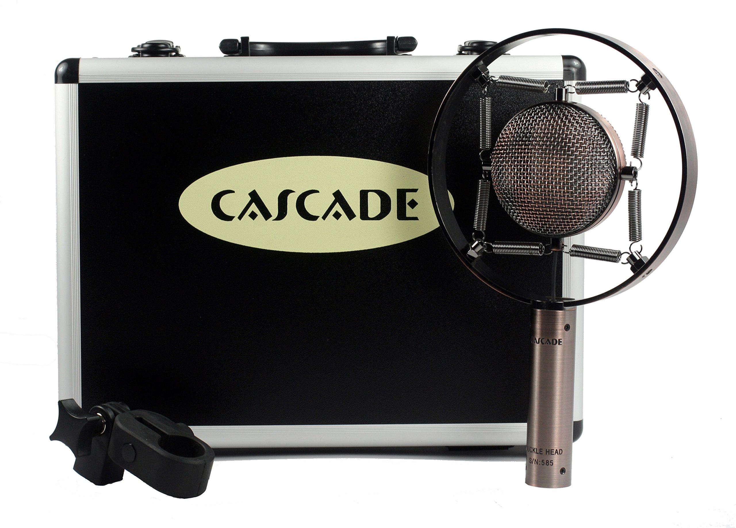 Cascade Microphones Knuckle Head Classic Short Ribbon Microphone, Copper ( by Cascade Microphones