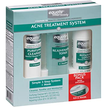 Equate  Step Acne Treatment System Mask