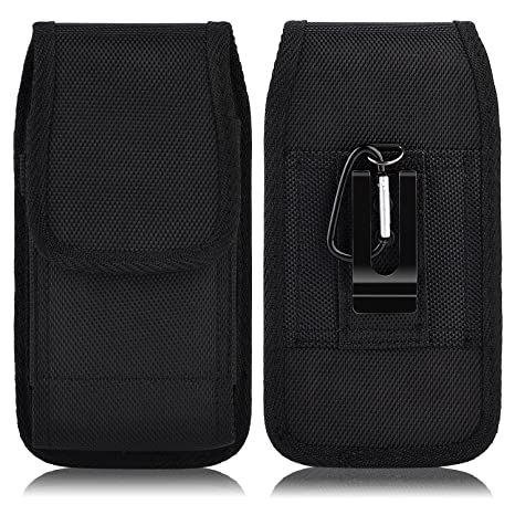 GALAXY S5 , GALAXY S6 , S6 EDGE , S7 , S8 , S9 , Pouch Holster Case Rugged vertical nylon belt loop clip Fits SAMSUNG GALAXY S5 / S6 / S6 EDGE / S7 / ...