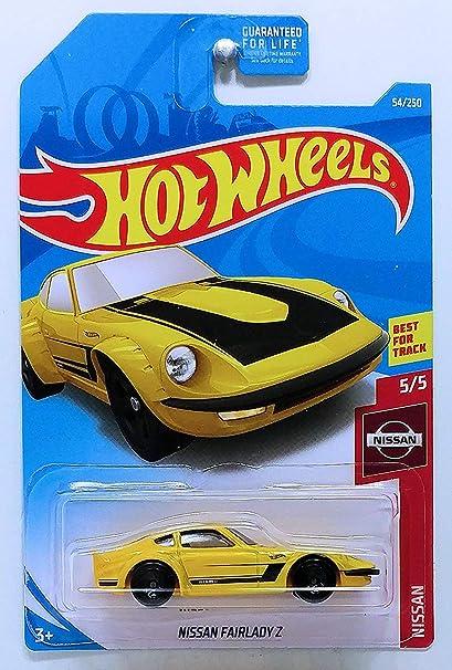 Nissan Fairlady Z >> Amazon Com Hot Wheels 2019 Nissan 5 5 Nissan Fairlady Z Yellow