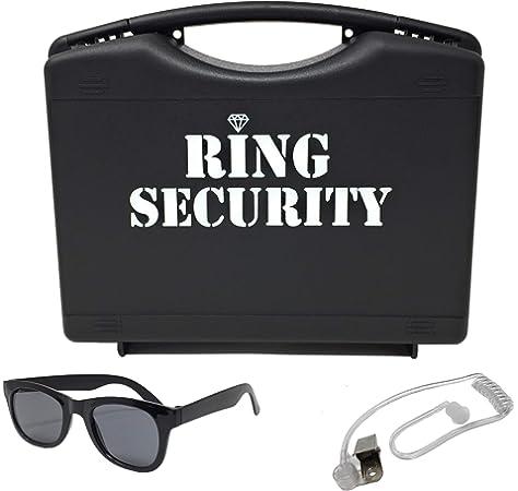 Amazon.com: Caja de seguridad personalizada para anillo ...