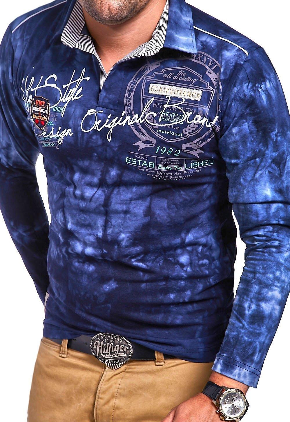 MT Styles Langarm Poloshirt PP-AMBITION T-Shirt R-0813: Amazon.de:  Bekleidung