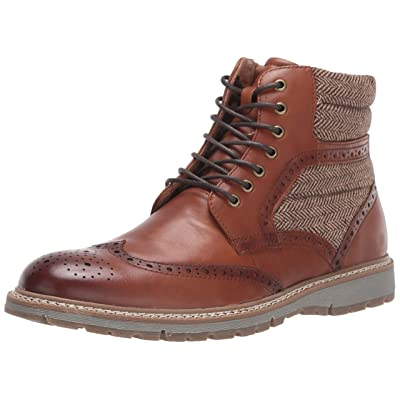 STACY ADAMS Men's Granger Wingtip Lace-up Boot Fashion | Chukka