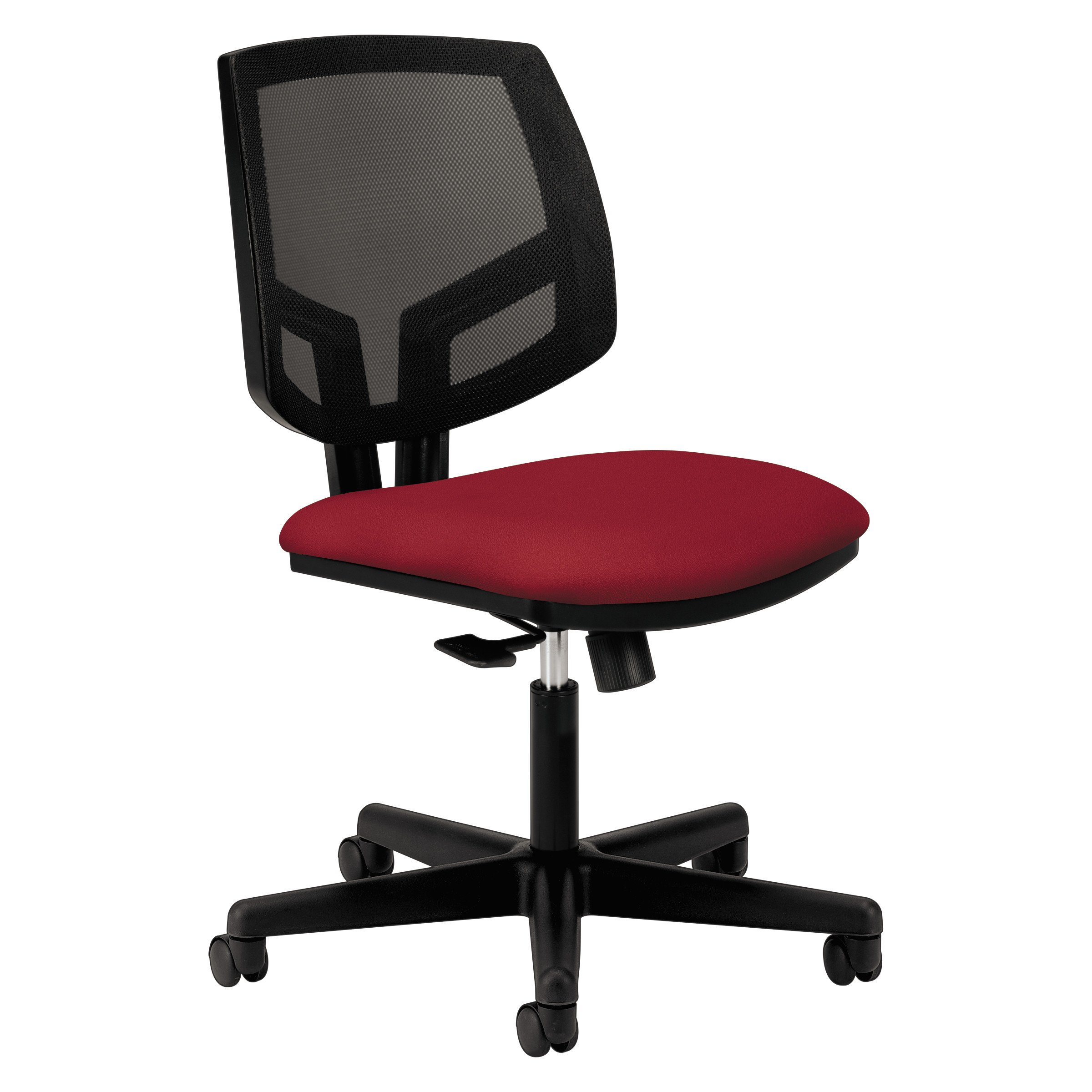 HON Volt Task Chair - Mesh Computer Chair for Office Desk, Crimson (H5711)