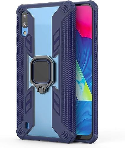 RFLY Funda para Samsung Galaxy M10, Doble Capa con Soporte de ...