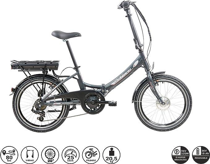 F.lli Schiano E- Star Bicicleta eléctrica, Adultos Unisex ...