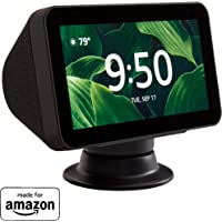 Made for Amazon Tilt + Swivel Stand in Black, for the Echo Show 8