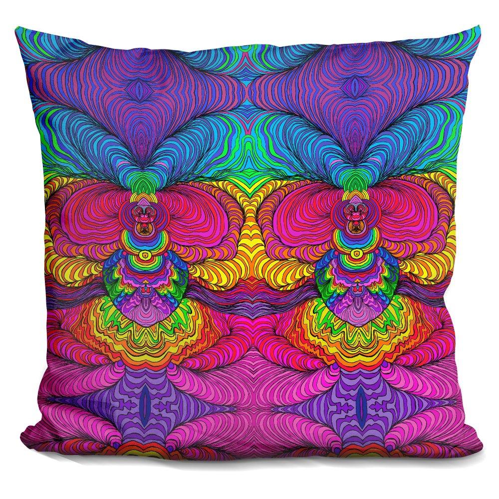 LiLiPi Swirls 316 A Decorative Accent Throw Pillow