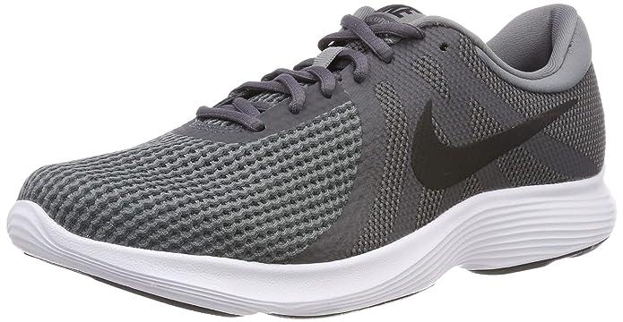 Nike Revolution 4 Herren grau mit schwarzem Streifen