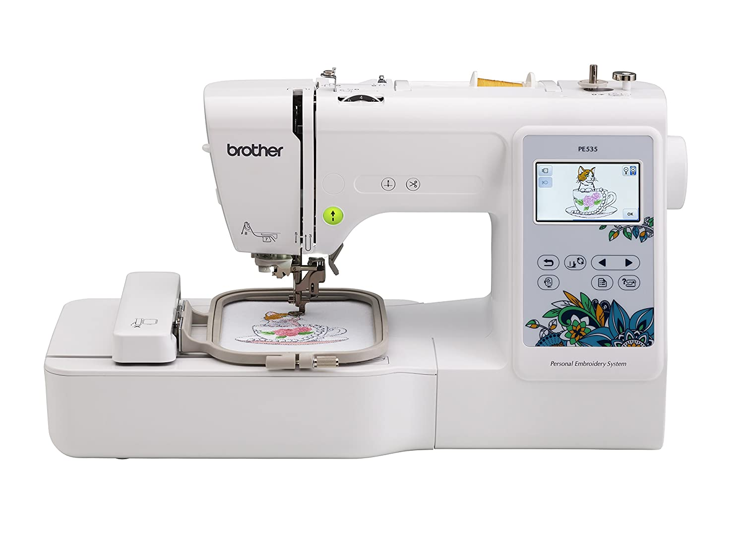 Brother Pe535 Embroidery Machine With 80 Built In Designs by Brother