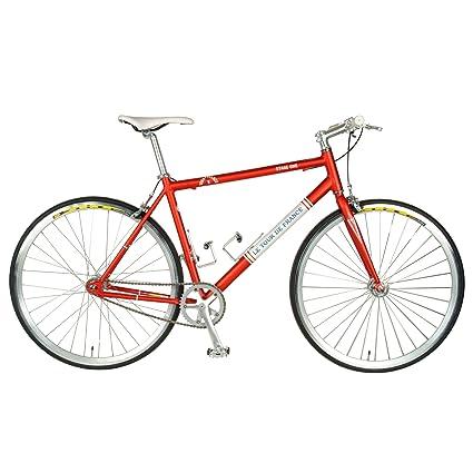 Amazon.com : Tour De France Stage One Vintage Fixie Bike, 700c ...