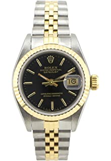 bb6af5dbe Rolex Datejust Automatic-self-Wind Female Watch 69173 (Certified Pre-Owned)