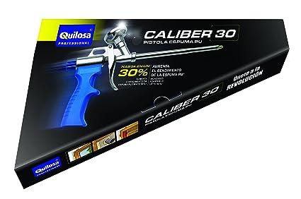 quilosa T004143 Pistola Espuma Caliber 30 Un Negra