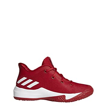 differently 72508 020ef Adidas Rise Up 2 K, Chaussures de Basketball Mixte Enfant, Rouge (Rojpot