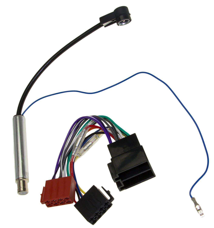 Adaptateur kit Universe/® C/âble Adaptateur autoradio ISO femelle