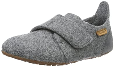 Bisgaard Unisex-Kinder Wool Sailor Slipper, Grau (70 Grey), 36 EU
