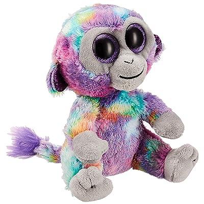 Ty Beanie Boos Zuri - Multi-Colored Monkey reg: Toys & Games