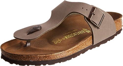 Birkenstock Women's Flip Flop Sandals, Brown, 8 us
